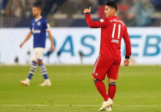 James regresó a los entrenamientos del Bayern Múnich