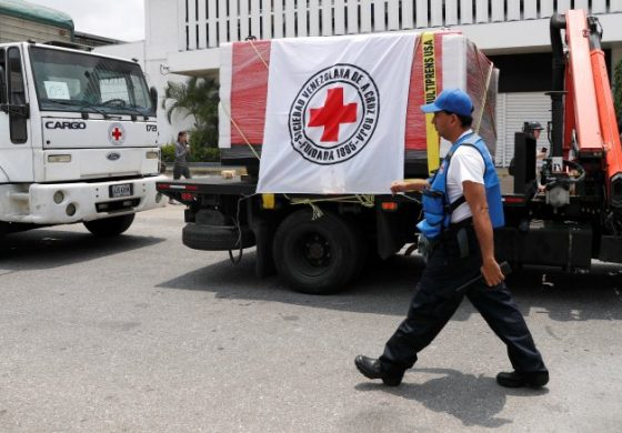 38 centros de salud venezolanos recibieron ayuda humanitaria de la Cruz Roja