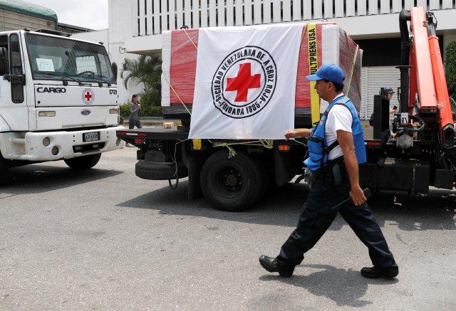 """Cruz Roja critica la falta de """"voluntad política"""" de la comunidad internacional para ayudar a Venezuela"""