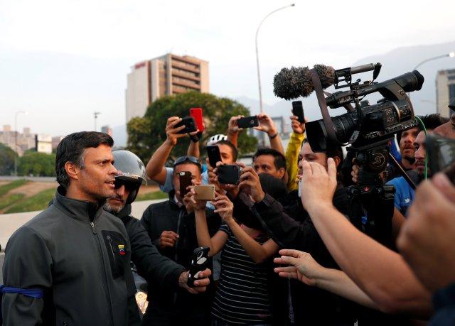 Leopoldo López celebró sanciones contra Rosneft