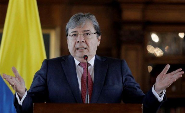 Canciller colombiano pidió mayor cooperación internacional ante crisis migratoria venezolana