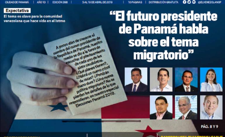Panamá (del 5 al 19 de abril)