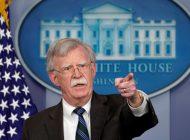 """Bolton advirtió a Irán que """"No confundan prudencia con debilidad"""""""