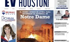 Houston (del 18 de abril al 01 de mayo)