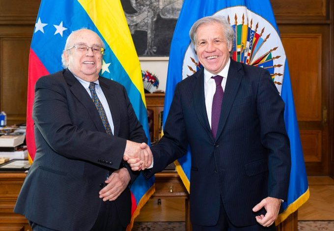 OEA aceptó credenciales del embajador de Venezuela designado por Guaidó
