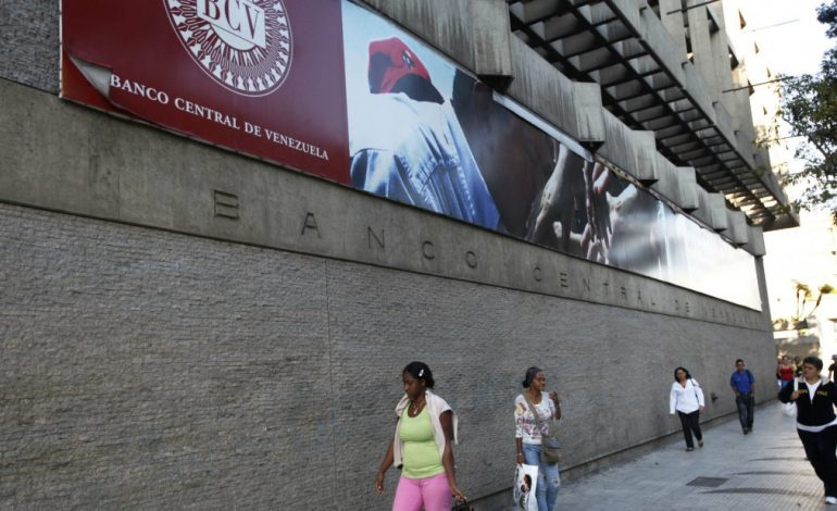 Banco Central de Venezuela sufre el peso de las sanciones de EEUU