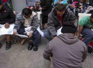 Caravana de cubanos se acercana a la frontera de EEUU y México