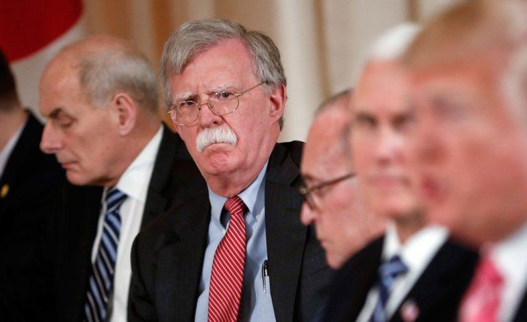 Trump destituyó al asesor de Seguridad Nacional John Bolton