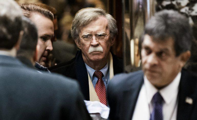 Bolton acusó a Padrino y a Cabello de darle poder a los paramilitares