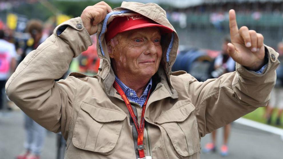 F1 y Ferrari lloran la muerte de Niki Lauda