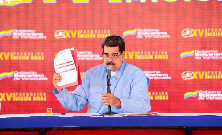 """Maduro calificó acciones de EEUU contra Venezuela como """"frustración y despecho"""""""