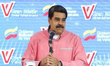 Maduro afirmó que no  patalea por  las sanciones y que en cambio las enfrenta