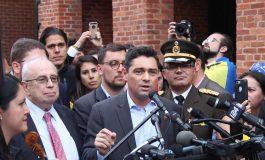 ¡Triunfamos! Vecchio: Cesó la usurpación en la Embajada de Venezuela, tenemos acá un pedacito de libertad