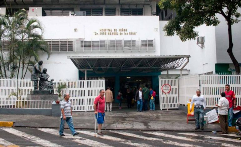 Dos niños fallecieron en el área de Hematología del JM de los Ríos en Caracas