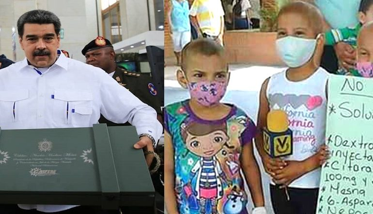 Más de 200 trasplantes medulares se pueden costear con el dinero aprobado por Maduro para el sector militar