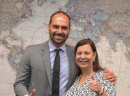 Embajadora de Venezuela designada por Guaidó fue recibida en Brasil