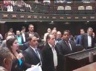 Parlamentarios venezolanos se reúnen para rechazar ataques contra el Legislativo