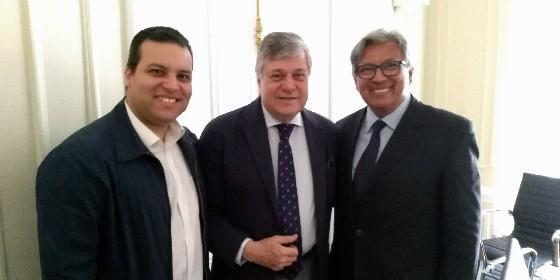 Gustavo Eustache Soteldo y William Cárdenas, dos venezolanos candidatos del PP para Madrid