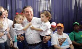 """Cortizo afirmó que quiere ser el primer obrero para """"rescatar"""" a Panamá"""