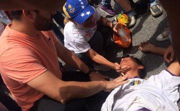 Represión en Lara dejó al menos un herido y varios afectados por lacrimógenas