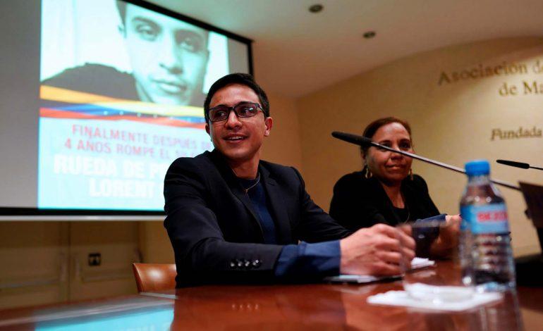 Lorent Saleh: Hay mecanismos judiciales para rescatar la soberanía de Venezuela