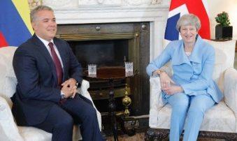 Duque: Londres quiere ayudar a Colombia en asistencia a migrantes venezolanos