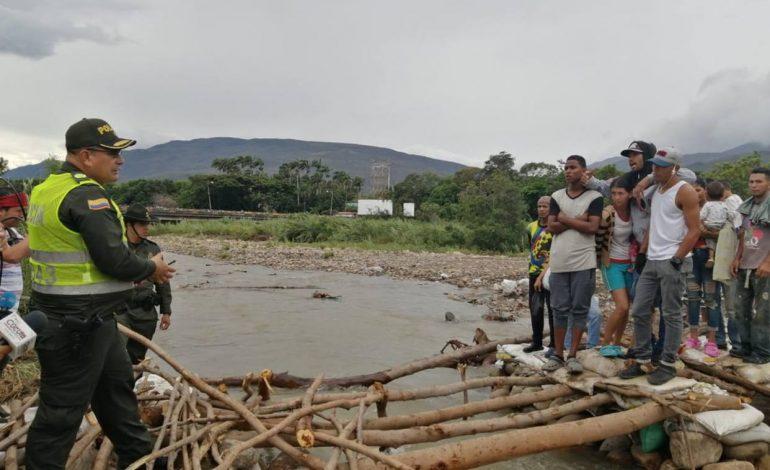Policía Nacional de Colombia tomó el control de las trochas en la frontera con Venezuela
