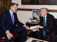 Almagro se reunió con el presidente del TSJ en el exilio