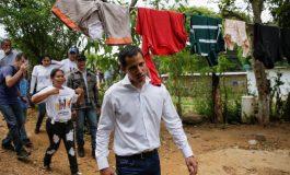 Los Valles del Tuy recibió a Juan Guaidó en un recorrido casa por casa