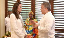 Angelina Jolie se reunió con Duque para discutir sobre niños venezolanos en la frontera