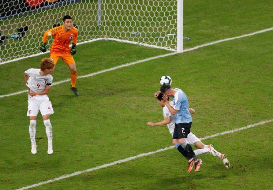 Uruguay y Japón igualan en el partido más emocionante de la Copa América