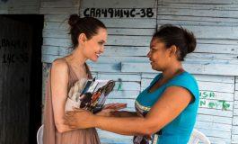 Angelina Jolie visitó La Guajira para palpar el drama de los venezolanos desplazados