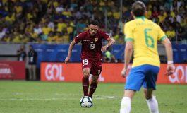 El jugador vinotinto Arquímedes Figuera se perderá el resto de la Copa América tras sufrir lesión