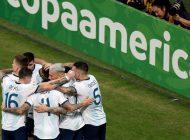 Argentina clasificó para los cuartos de final en la Copa América y jugará con Venezuela