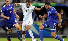 Argentina y Paraguay empataron y mantienen ambos su opción de llegar a cuartos de final