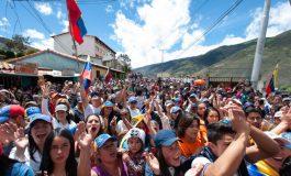 Guaidó llegó a Mérida para su gira de tres días
