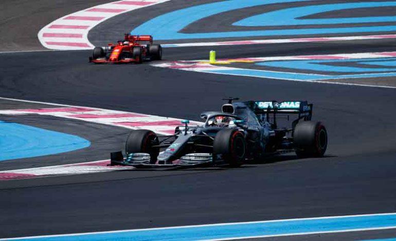Hamilton saldrá este domingo desde la pole en el Gran Premio de Francia