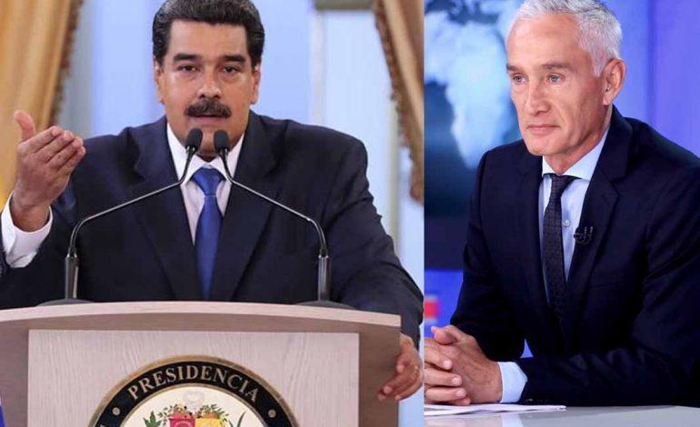Entrevista de Jorge Ramos a Nicolás Maduro se publicará en todas las redes sociales