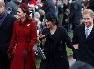 Meghan Markle y el príncipe Harry confirmaron que no trabajarán más con William y Kate Middleton