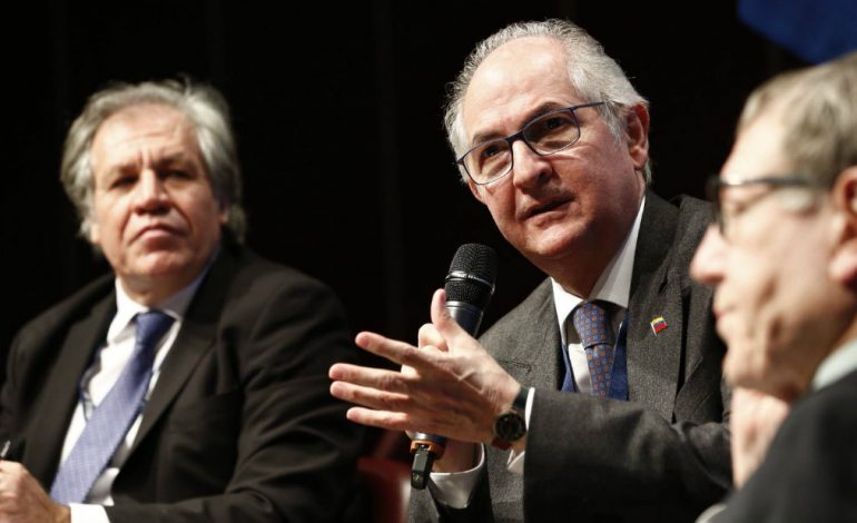 Ledezma: Venezuela necesita que se active el principio de intervención humanitaria