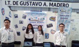 Estudiantes mexicanos inventaron plantilla para zapatos antisecuestros
