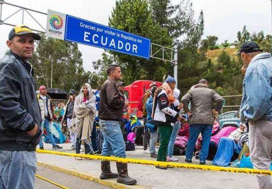 Unicef: Ecuador es el tercer país en número de acogida de refugiados y migrantes venezolanos
