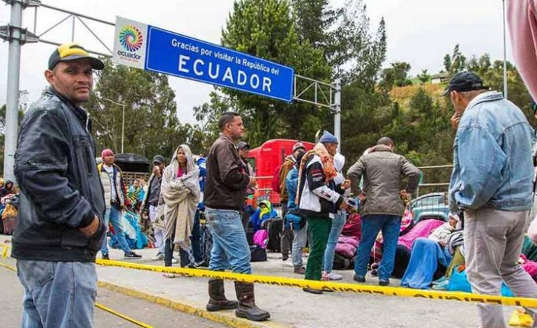Visa humanitaria no impedirá que venezolanos pidan naturalización en Ecuador