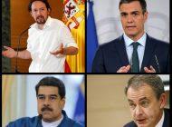 Extraoficial: Maduro habría amenazado a Pedro Sánchez para que incluya a Podemos en el nuevo gobierno