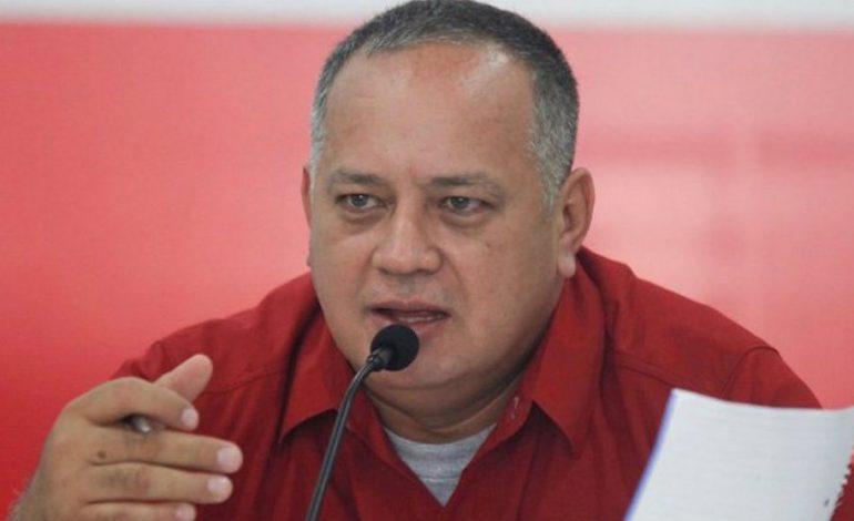 Diosdado Cabello negó que se haya discutido en Barbados la posibilidad de elecciones presidenciales