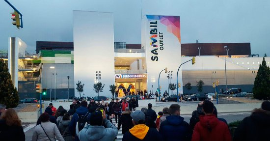 Sambil Outlet Madrid, la mejor opción comercial de España