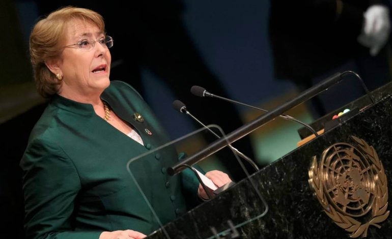 Bachelet profundamente impactada por condiciones de detención de migrantes en EEUU