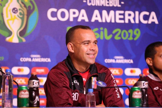 Rafael Dudamel: hemos venido a ser protagonistas de la Copa América
