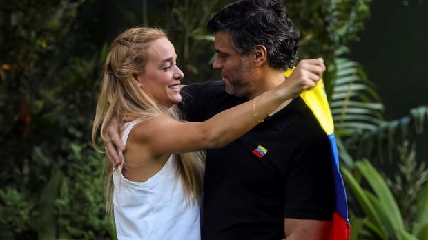 Lilian Tintori y su hija menor se encuentran en Madrid, según el ABC de España
