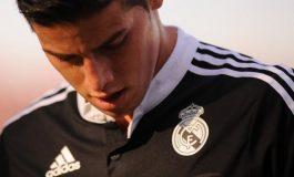James Rodríguez vuelve a entrenarse con el Real Madrid
